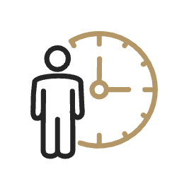 at risk patient hours icon